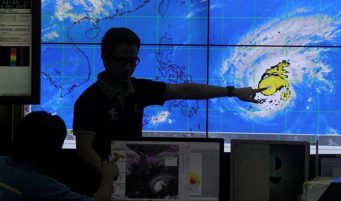 Из-за тайфуна «Майсак» власти Филиппин эвакуируют 24 тысячи граждан