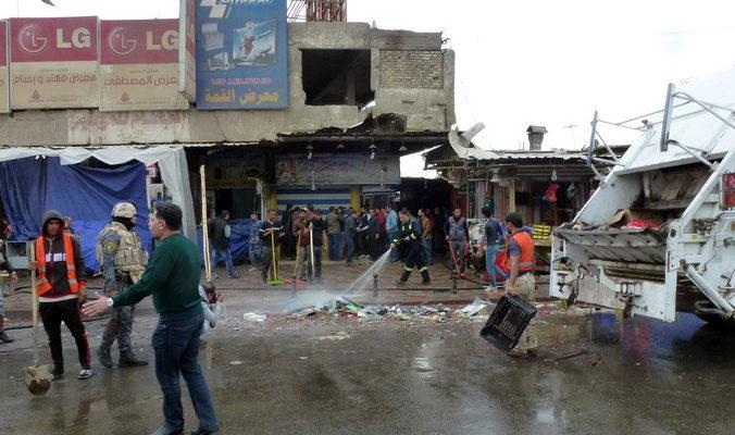 Более 30 человек погибли при взрывах в Багдаде