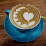 чашка, кофе, утро, сердце