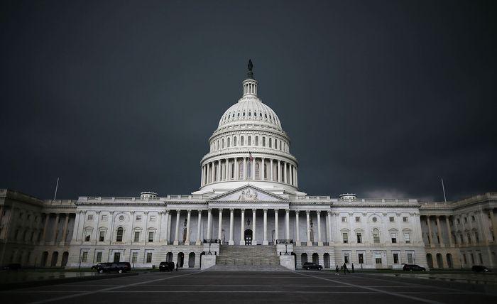 Капитолий, Вашингтон. Фото: Mark Wilson/Getty Images