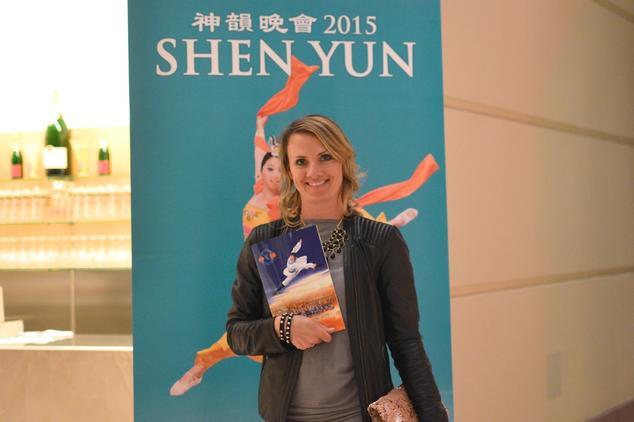 Виктория Перез на концерте Shen Yun Баден-Баден, Германия, 16 апреля 2015 г. Фото: Florian Godovits / Epoch Times