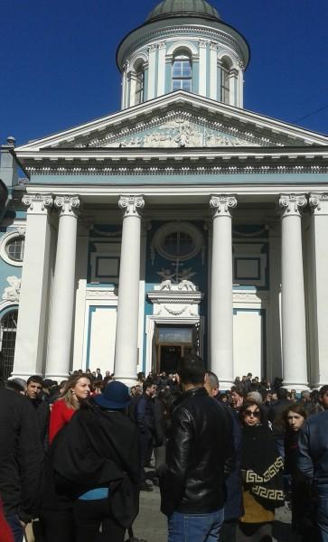 Церковь Св. Екатерины, 24 апреля 2015 года. Фото: Татьяна Петрова/Великая Эпоха