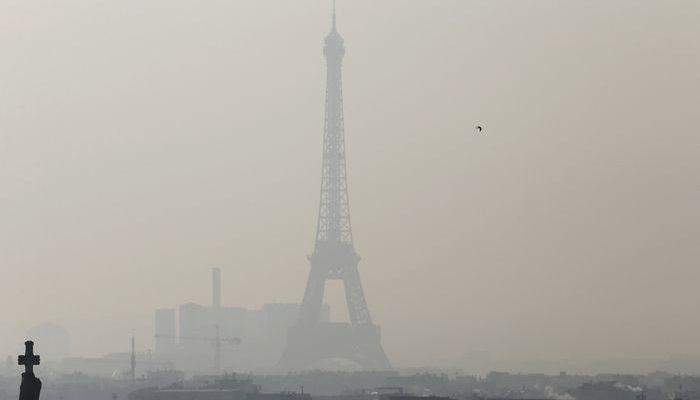 Image result for смог в париже