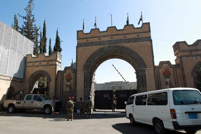 Дворец президента в столице Йемена Сане. Фото: MOHAMMED HUWAIS/AFP/Getty Images