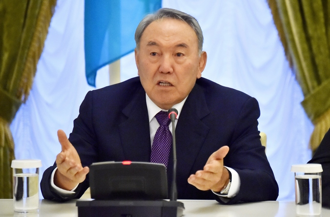 Президент Казахстана Нурсултан Назарбаев. Фото: SERGEI SUPINSKY/AFP/Getty Images
