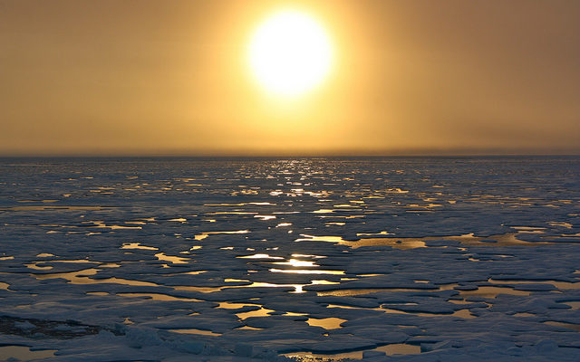 Над Арктикой появится большая озоновая дыра