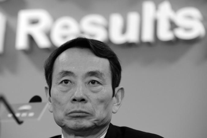 Цзян Цземинь, руководитель PetroChina, выступает с ежегодным отчётом компании в Гонконге 25 марта 2010 г. Фото: Mike Clarke/AFP/Getty Images