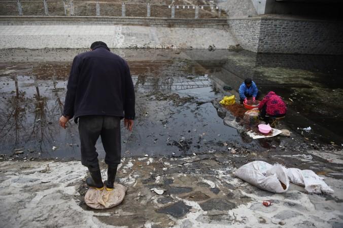 китай экология фото