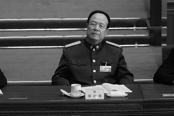Го Босюн, заместитель председателя центрвоенсовета, на собрании народных представителей 5 марта 2007 г. По последним сообщениям, Го был арестован вместе с его женой. Фото: Andrew Wong/Getty Images