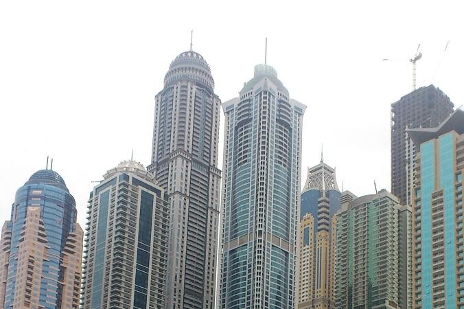 Princess Tower — жилой небоскрёб, расположенный в Дубае в районе Дубай Марина, ОАЭ. Фото: Losttraveller/commons.wikimedia.org/CC BY-SA 3.0