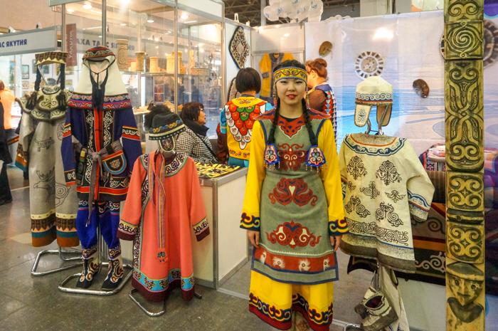 Юбилейная Х Международная выставка-ярмарка «Сокровища Севера-2015 открылась на ВДНХ. Фото: Ульяна Ким/Великая Эпоха