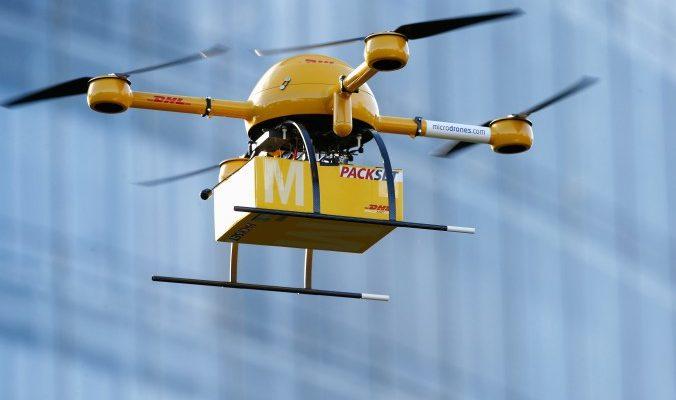 В Швейцарии будут доставлять почту при помощи дронов