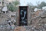 Рисунок Бэнкси в Секторе Газа. Фото: banksy.co.uk