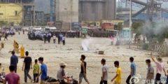 Полиция в Китае дубинками разогнала тысячи протестующих крестьян