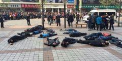 Десятки таксистов совершили в Пекине попытку коллективного суицида