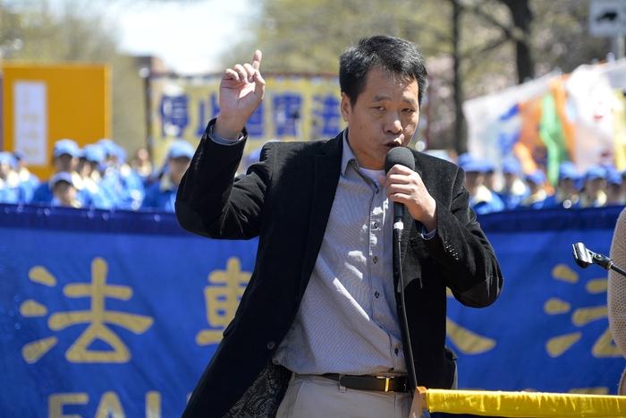 Китайский диссидент Тан Боцяо. Фото: The Epoch Times