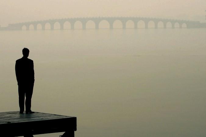 туман в Китае, смог