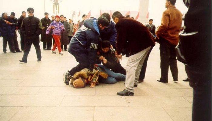 В китайском городе Даньдун арестовали более 20 сторонников Фалуньгун