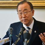 Генеральный секретарь ООН Пан Ги Мун. Фото: ALBERTO PIZZOLI/AFP/Getty Images