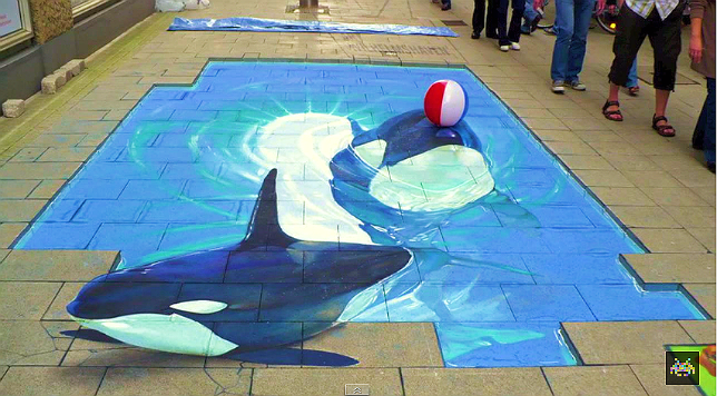 Фото: Best of 3D street art via YouTube