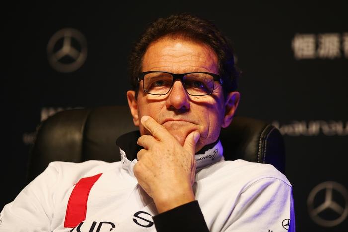 Тренер российской сборной по футболу Фабио Капелло. Фото: Walton/Getty Images for Laureus