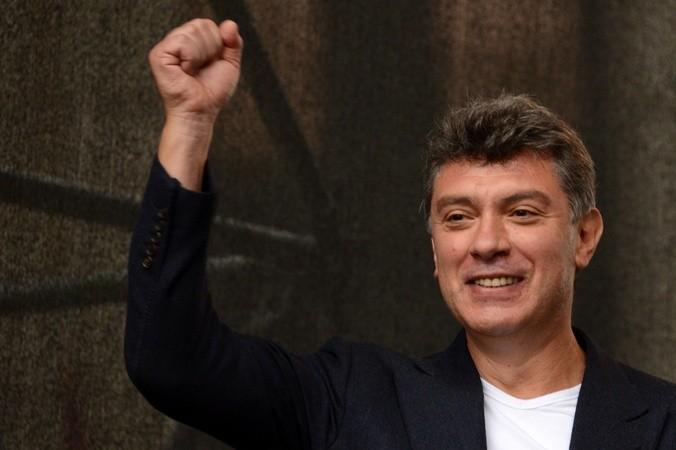 Российский политик и государственный деятель Борис Немцов. Фото: KIRILL KUDRYAVTSEV/AFP/Getty Images