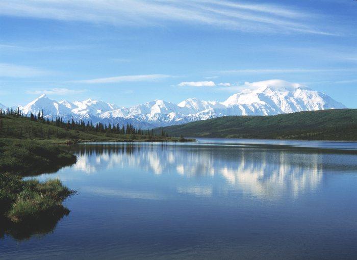 Озеро Уандер, Аляска. Фото: wikipedia.org/CC BY-SA 3.0