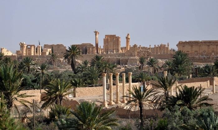 Древний город Пальмиры. Фото: STR/AFP/Getty Images