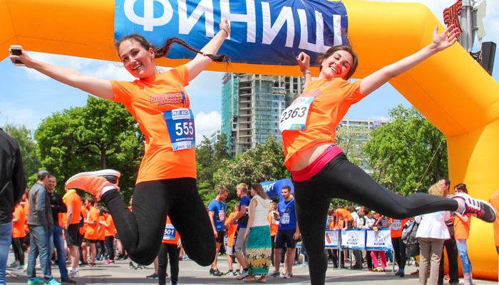 Забег на 5000 метров с «Высшей лигой» прошёл в Краснодаре