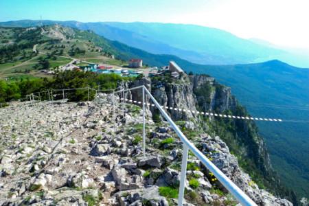 Вершина Ай-Петри, вид на станцию канатной дороги. Фото: Алла Лавриненко/Великая Эпоха
