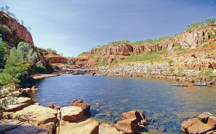 Пейзаж Северной территории Австралии. Фото: Шарль Мао