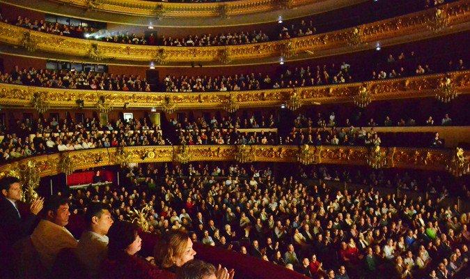 Публика на концерте Shen Yun  в престижном оперном театре Liceu в Барселоне, Испания. Фото: La Gran Época