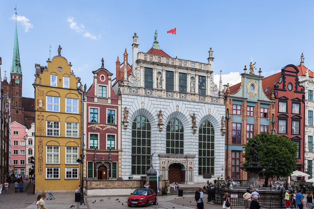 Двор Артуса, Гданьск, Польша. Фото: Wikipedia Commons