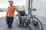 Долгий марафон на инвалидной коляске. Фото: neinvalid.ru