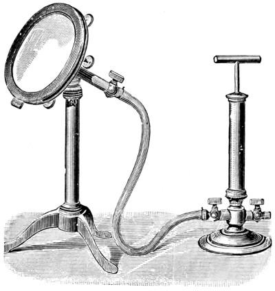 Попытка западных учёных воспроизвести эффект китайского или японского магического зеркала, используя компрессор