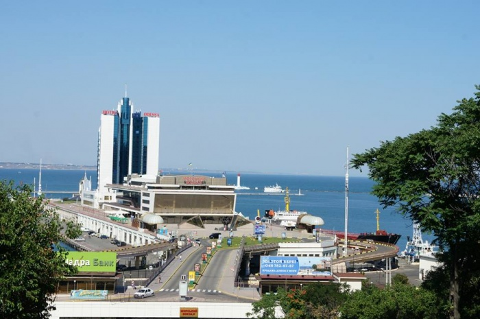 Морской вокзал в Одессе. Фото: Мария Мареева/Великая Эпоха