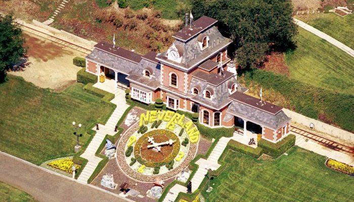 Ранчо Майкла Джексона «Неверленд» продается за $100 млн