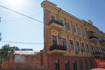 «Плоский» дом в Одессе. Фото:  Мареева Мария/Великая Эпоха