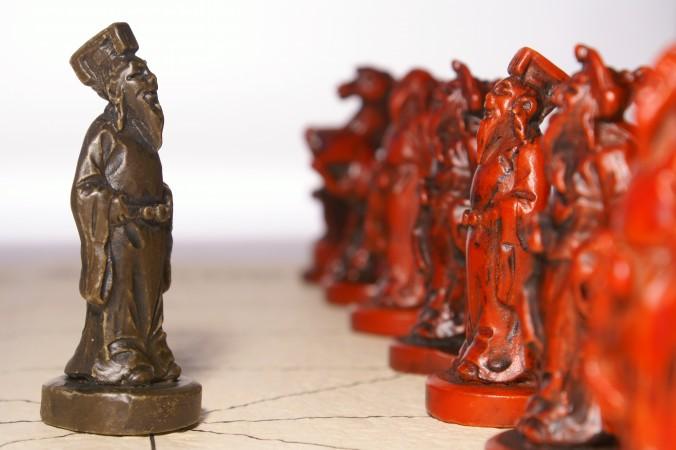 древний Китай, руководитель и подчинённые