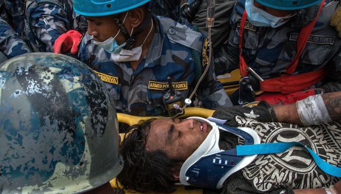 Российские спасатели вылетели в Непал