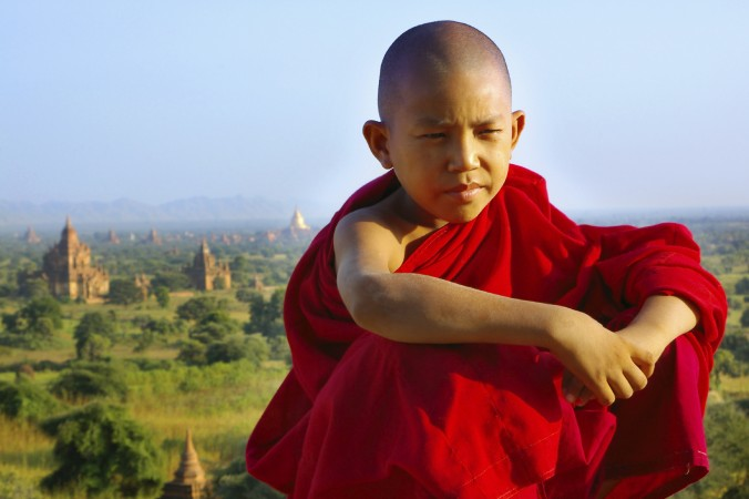 Юный монах. Фото: Volare2004/iStock