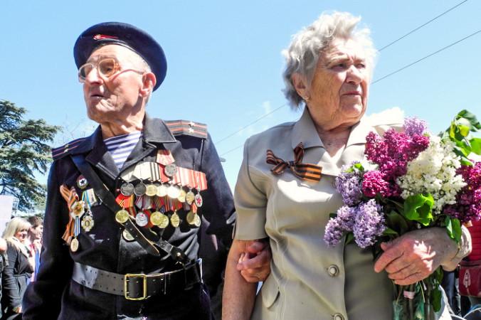 Парад Победы в Севастополе. Фото: Алла Лавриненко/Великая Эпоха