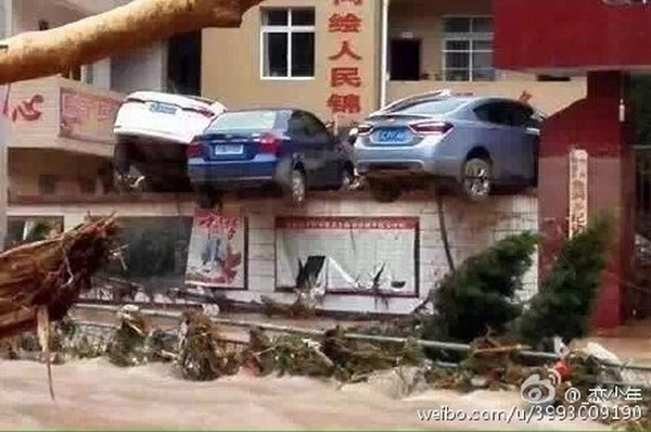 Наводнение в Китае. Провинция Юньнань. Май 2015 года. Фото с epochtimes.com