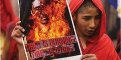 В Тибете произошло очередное протестное самосожжение