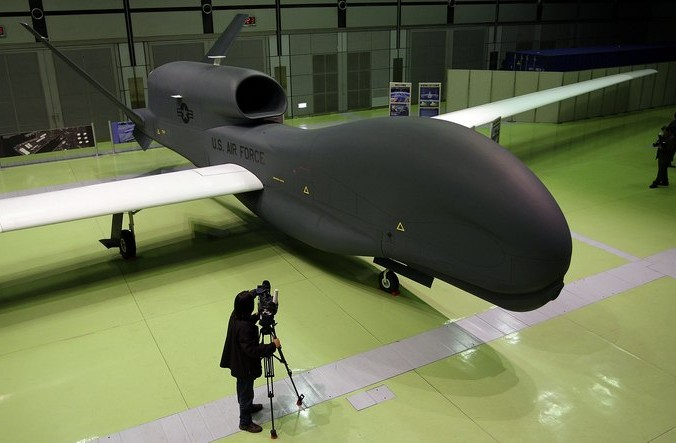 Беспилотник RQ-4 Global Hawk. Фото: Koichi Kamoshida/Getty Images