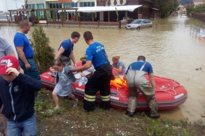 Наводнение в Сочи. Фото: 23.mchs.gov.ru