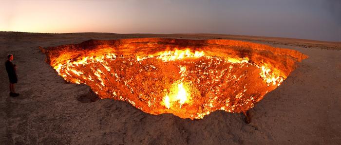 Вечный огонь: геологи изучают древние мифы