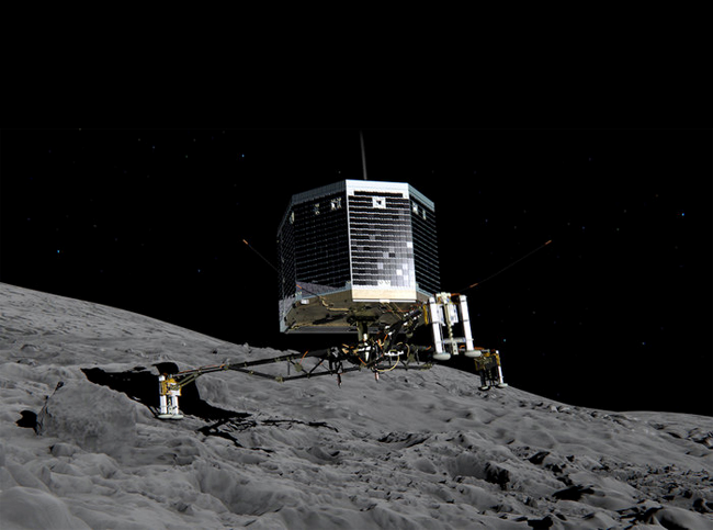 Зонд Philae вышел на связь