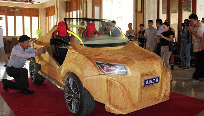 3D печатный автомобиль составит конкуренцию автопрому (видео)