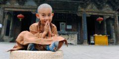 Самому юному буддийскому монаху 4,5 года